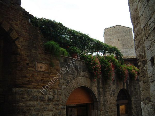 View of a Tower, San Gimignano, Tuscany