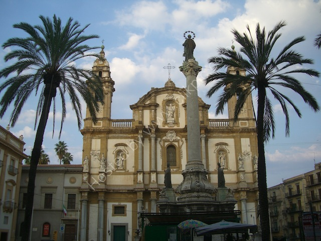 San Domenico Church, Piazza San Domenico, Palermo