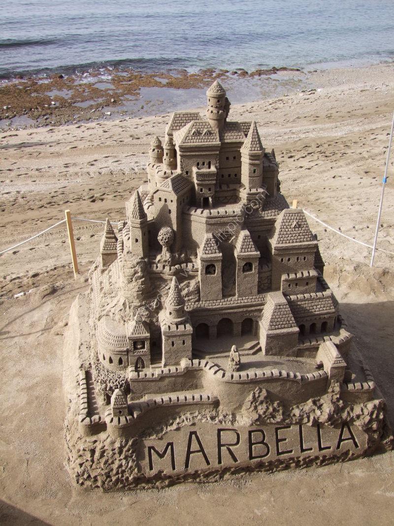 Sand Scupture, Marbella