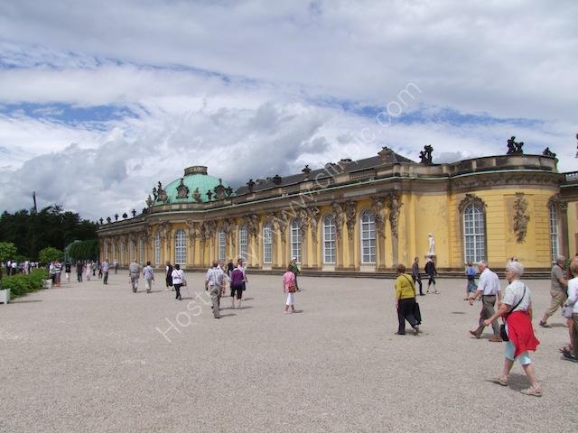 Rear of Sanssouci Palace, Potsdam