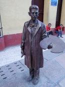 Bronze of an Artist, Santa Clara