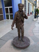 Bronze Sculpture, Santa Clara