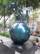 Sculpture, Orchard Road