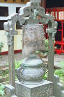 Old Bronze Bell at Jade Buddha Temple, Shanghai