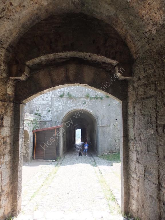 Double Entrance of Rozafar Castle