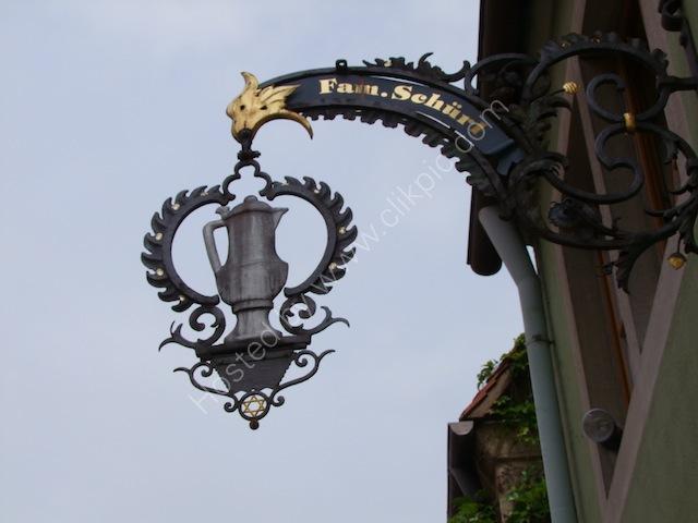 Shop Sign, Rothenburg