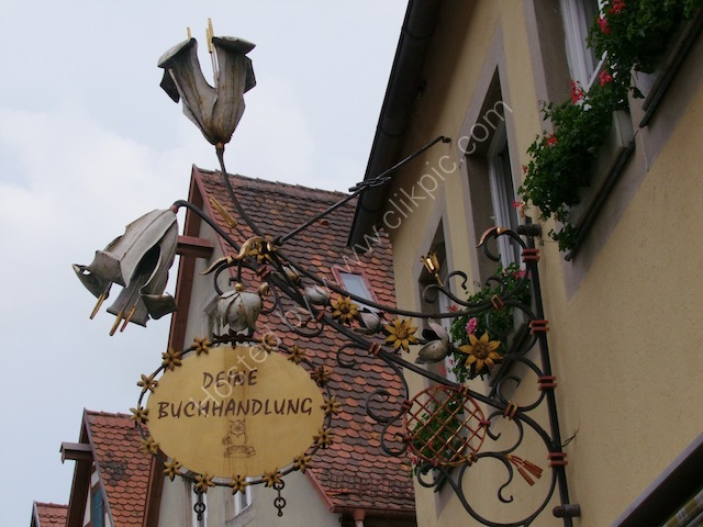 Shop Sign, Rothenburg
