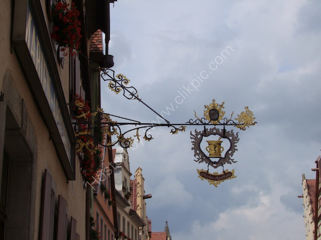 Pharmacist Shop Sign, Rothenburg