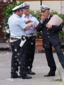 Policemen, Cathedral Square, Monreale