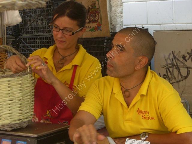 Sicilians, Food Market, Syracusa