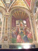 Interior of The Duomo, Sienna, Tuscany