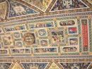 Ceiling in The Duomo, Sienna, Tuscany