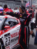 Portrait of Nissan Support Crew Member