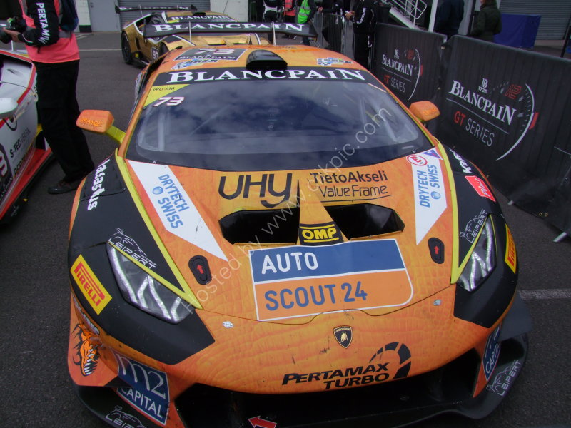 Lambourghini Racing Car