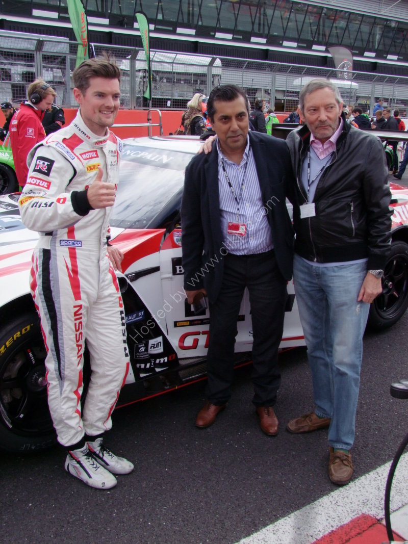 Nissan Driver & Two Sponsors