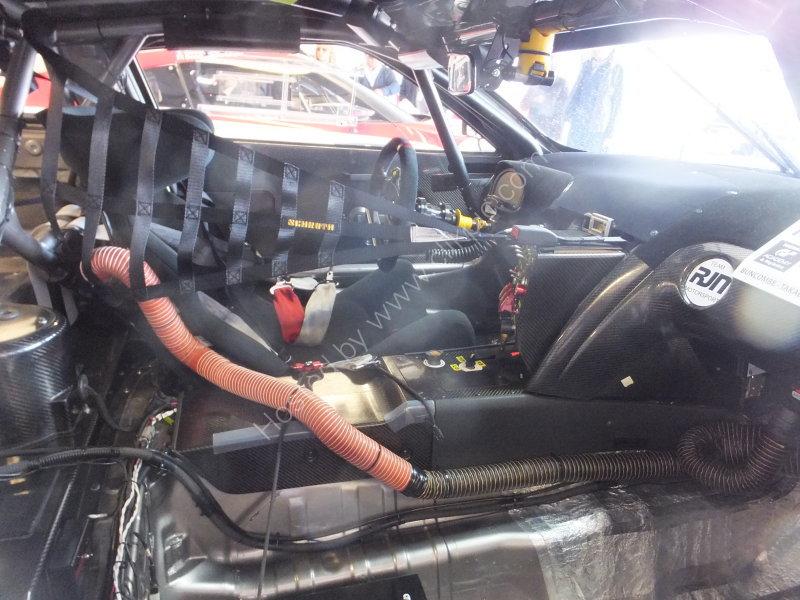 Interior of Nissan Racing Car