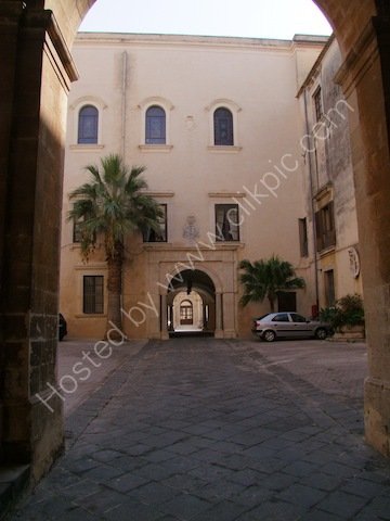 Courtyards of Building, Piazza Duomo, Syracusa
