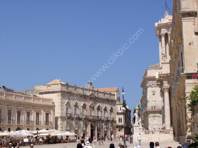 Piazza Duomo, Ortygia Island, Syracusa