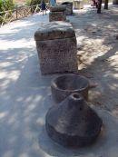 Roman Coffins & Grinder, Roman Theatre, Syracusa