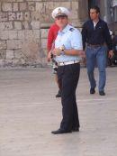 Sicilian Policeman, Piazza Duomo, Ortygia Island, Syracusa