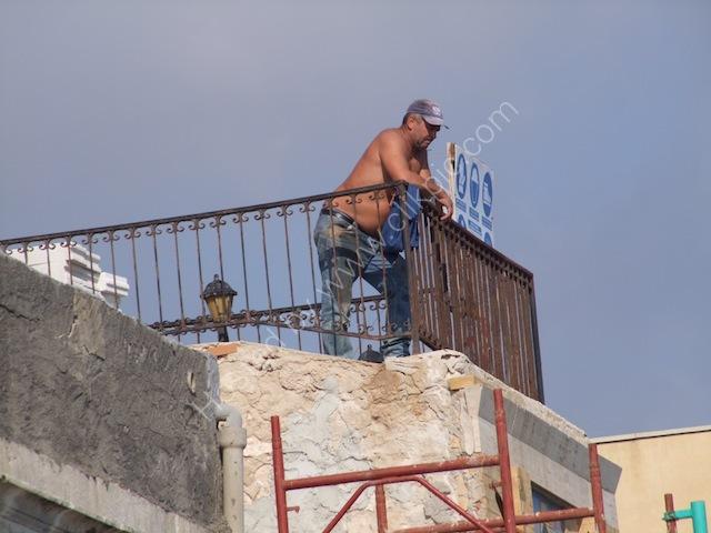 Sicilian Builder, Ortygia Island, Syracusa