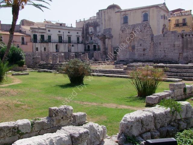 Temple of Apollo, Piazza Pancali, Ortygia Island, Syracusa