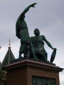 Statue of Butcher Kuzma Minin & Prince Dimitri Pozharsky, Red Square