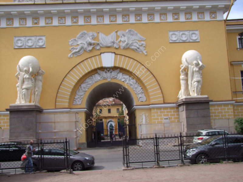 Admiralty Building, St Petersburg