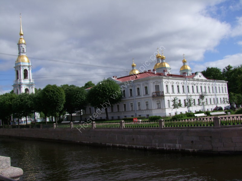 Church in St Petersburg from 7 Bridges Location