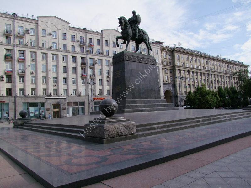 Statue of Prince Yuri Dolgoruky, Tverskaya Street, Moscow
