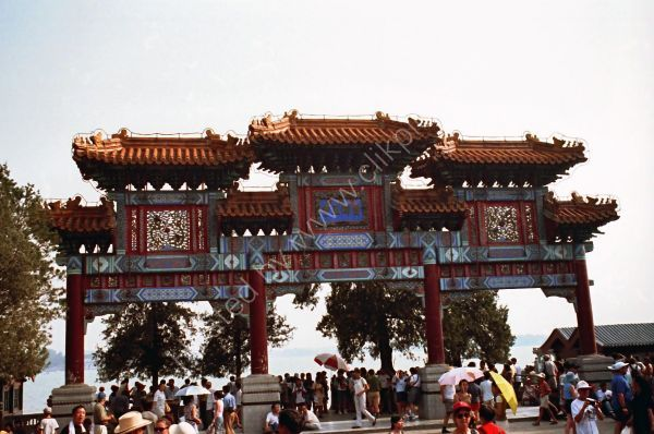 Gate to Kunming Lake, Summer Palace, Beijing