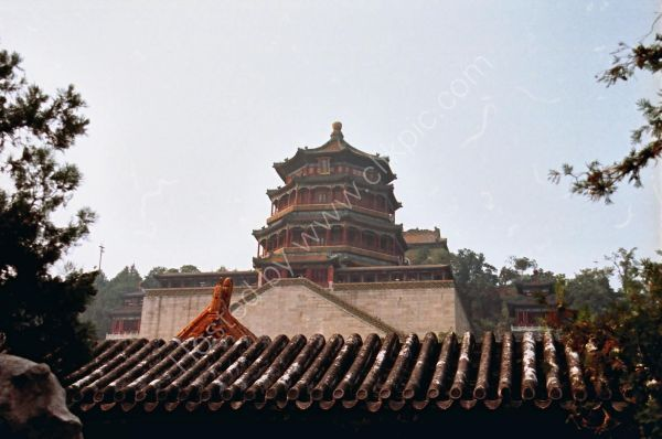 Pagoda of Buddhist Fragrance, Summer Palace, Beijing