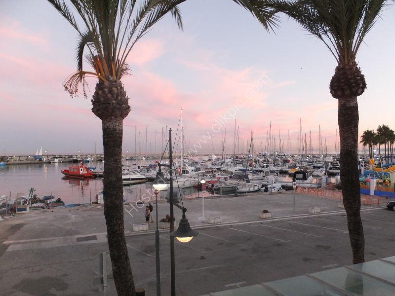 Sunset over the Port, Estepona