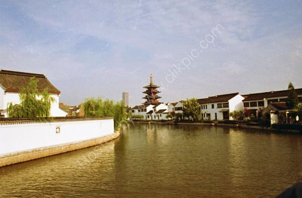 Entrance via Grand Canal to Suzhou