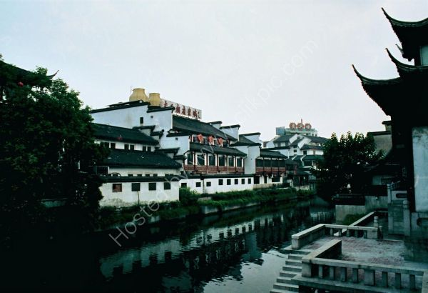 Traditional buildings, Old Town, Suzhou