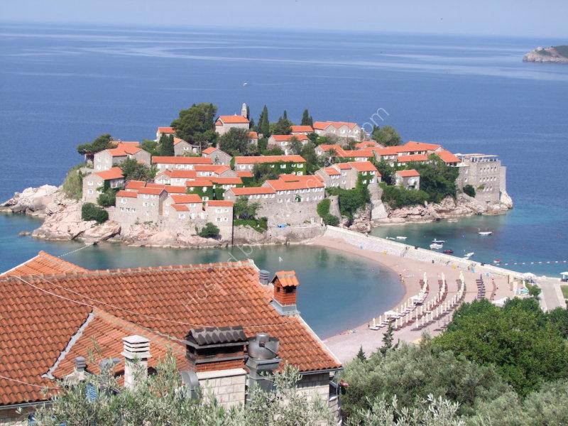 Island of Sveti Stefan