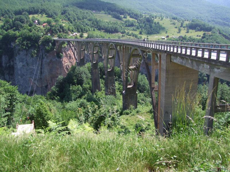 rTara River Canyon Bridge