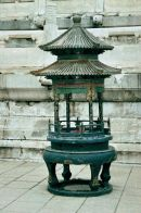 Bronze Incense Burner, Temple of Heaven Park, Beijing
