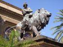 Bronze Lion, Theatre Massimo, Palermo