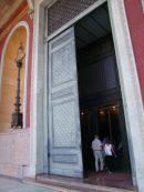 Bronze Door of Entrance, Theatre Massimo, Palermo