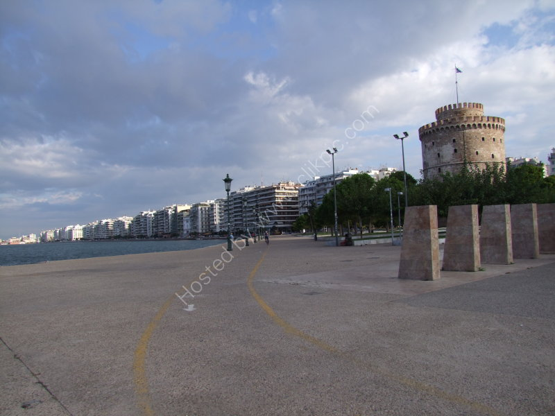 Shoreline Buildings & White Tower, Thessalonica