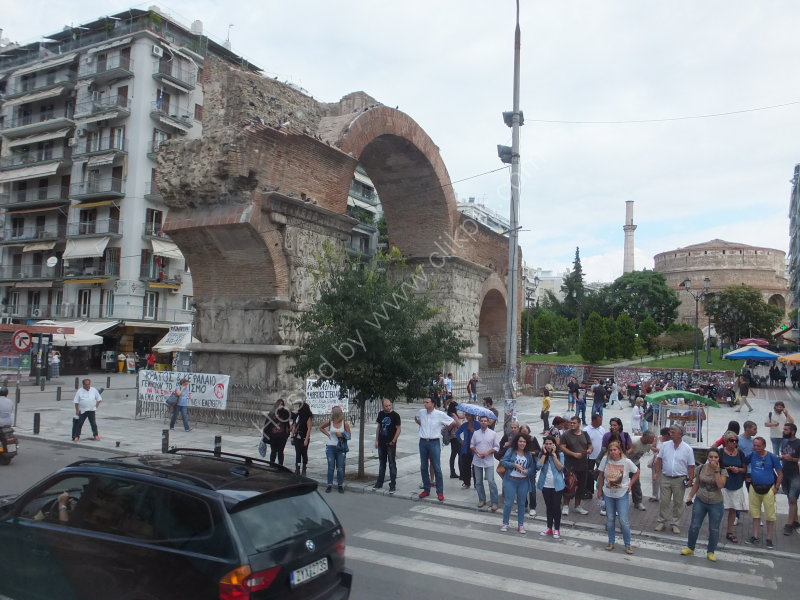The Arch of Galerius, Thessalonica