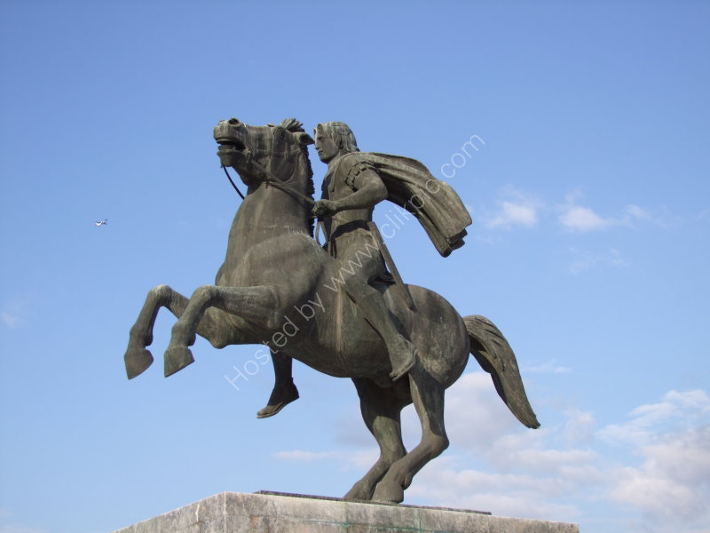 Statue of Alexander the Great, Thessalonica