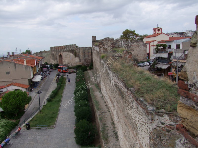 Castle Walls, Thessalonica