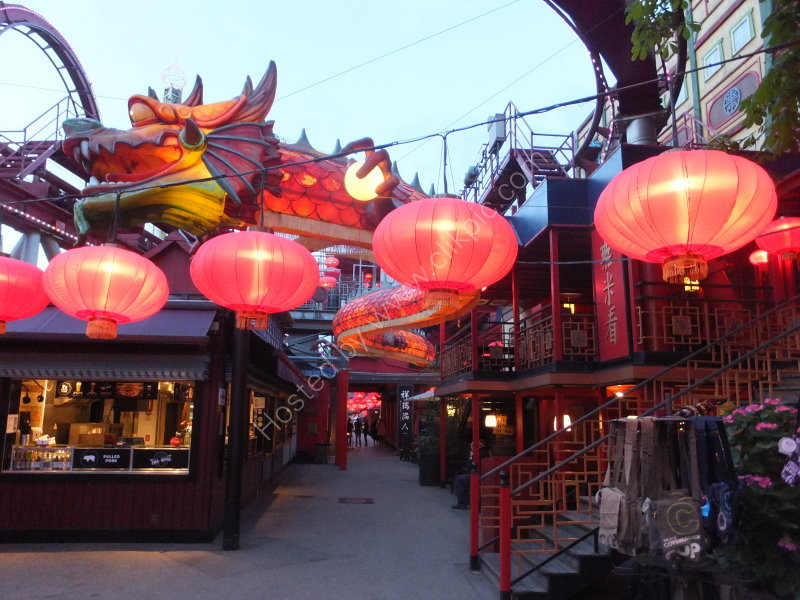Chinese Dragon & Lamps, Tivoli Gardens