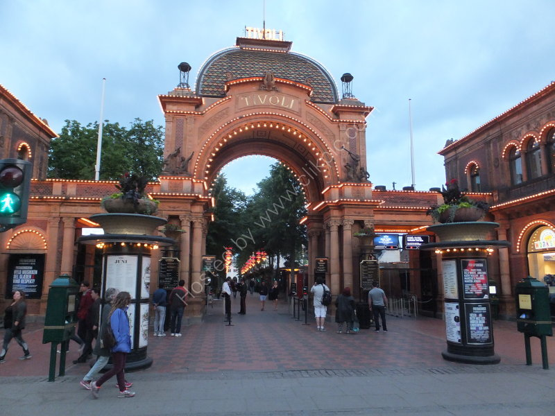 Entrance to Tivoli Gardens