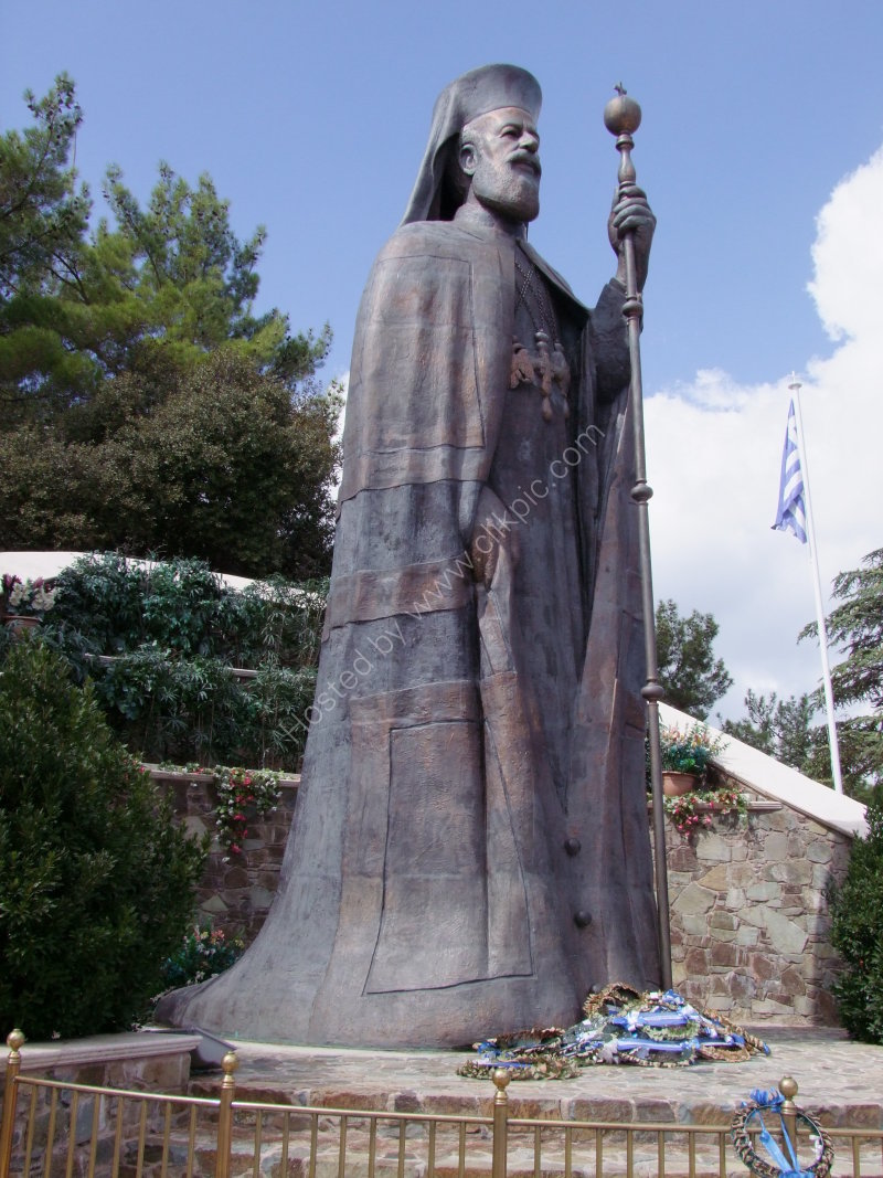 Bronze Statue of Archbishop Makarios III