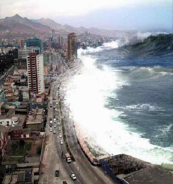 Tsunami, Chennai, India