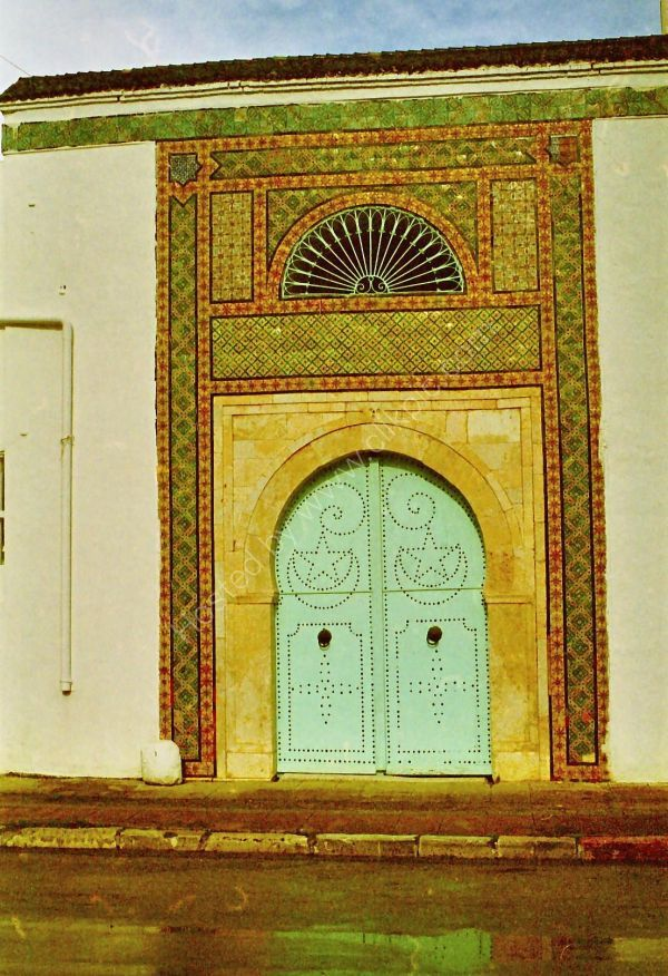 Typical Doorway, Hammamet