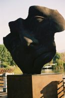 Bronze Sculpture, Lake Massaciuccoli, Tuscany